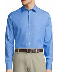 Claiborne Long Sleeve Chambray Shirt