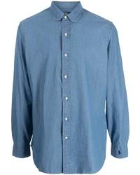 Polo Ralph Lauren Long Sleeve Indigo Chambray Shirt
