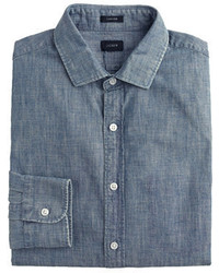 J.Crew Ludlow Shirt In Japanese Chambray
