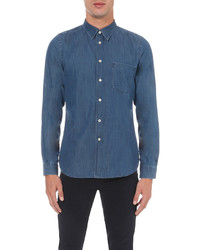 Paul Smith Ps By Slim Fit Chambray Shirt