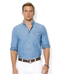 Ralph Lauren Polo Chambray Bleecker Pocket Shirt