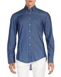 Gant Regular Fit Chambray Cotton Sportshirt