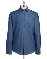 Hugo Boss Ronni Chambray Sportshirt
