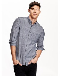 Old Navy Slim Fit Chambray Shirt For