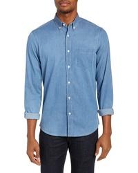 Nordstrom Men's Shop Slim Fit Chambray Sport Shirt
