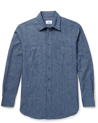 c26ffde244a81f Polo Ralph Lauren Polo Ralph Lauren Slim-Fit Washed Cotton-Chambray ...