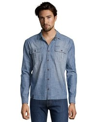 Lee Cooper Vintage Wash Chambray Button Down