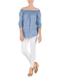 Mud Pie Chambray Top