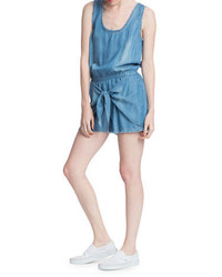 Plenty by Tracy Reese Chambray Tencel Romper
