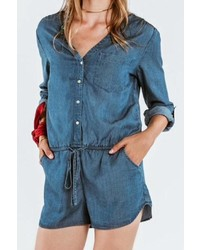On The Road Tencel Chambray Romper