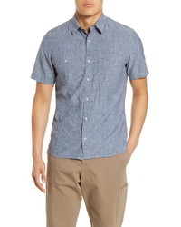 1901 Short Sleeve Chambray Button Up Shirt
