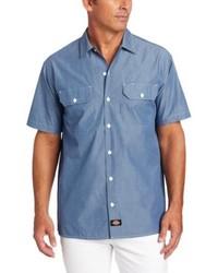 Dickies Big Short Sleeve Chambray Shirt