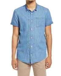 Scotch & Soda Regular Fit Button Up Shirt