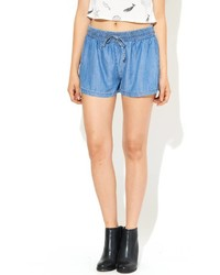 Signature 8 Chambray Drawstring Shorts