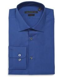 John Varvatos Star Usa Soho Slim Fit Stretch Check Dress Shirt
