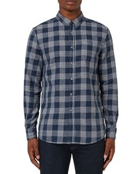 Topman Buffalo Check Flannel Shirt