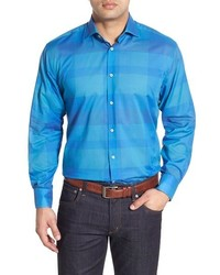 Big tall classic fit check sport shirt medium 595737