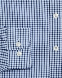 Armani Collezioni Check Dress Shirt Regular Fit