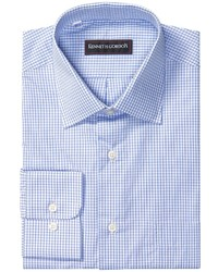 Kenneth Gordon Fancy Check Dress Shirt