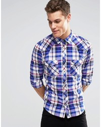Esprit Long Sleeve Check Shirt