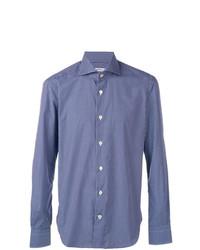 Kiton Micro Check Shirt