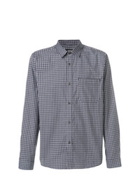 A.P.C. Trek Micro Check Shirt