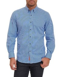 Robert Graham Wade Tailored Fit Check Sport Shirt