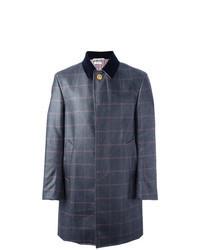 Blue Check Overcoat