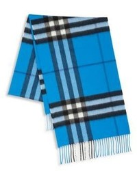 Burberry The Classic Giant Icon Cashmere Check Scarf