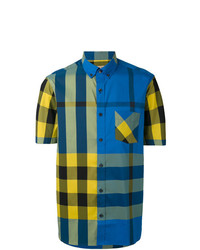 Burberry Check Short Sleeve Shirt