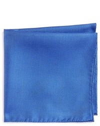 Ted Baker London Check Silk Pocket Square