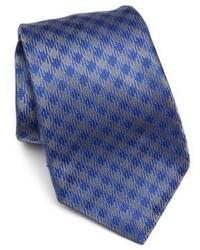 Kiton Check Silk Tie