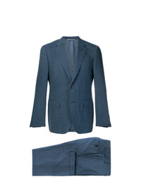 Canali Two Piece Checked Suit