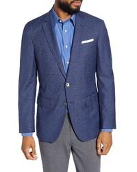 BOSS Fit Windowpane Wool Sport Coat