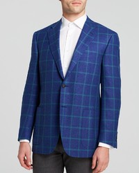 Canali Textured Windowpane Check Sport Coat Classic Fit Bloomingdales