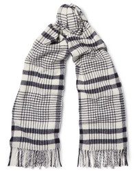 Acne Studios Canada Checked Virgin Wool Scarf