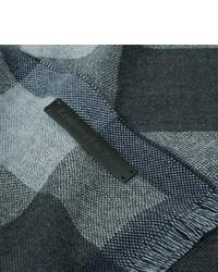 Ermenegildo Zegna Checked Wool Scarf