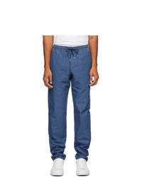 A.P.C. Blue Denim Kaplan Trousers