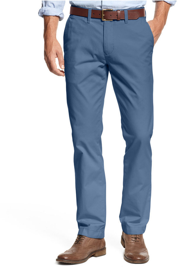 info for speical offer outlet for sale $59, Tommy Hilfiger Custom Fit Chino Pants