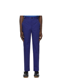 SSENSE WORKS Jeremy O Harris Blue Twill Chino Trousers