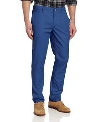 Perry Ellis Flat Front Solid Chino Pant