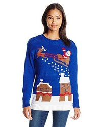 Blizzard Bay Star Of David Chanukah Ugly Christmas Sweater With ...