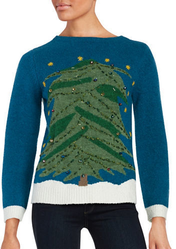 Whoopi Goldberg Christmas Sweaters.Whoopi Goldberg Light Up Christmas Tree Sweater