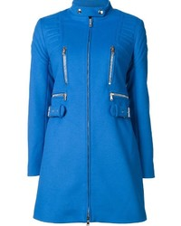 Moschino Ribbed Slim Fit Coat