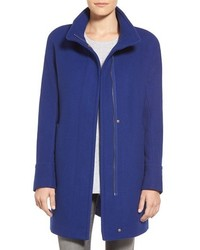 Petite wool blend stadium coat medium 366105