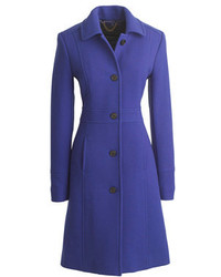 J.Crew Tall Double Cloth Lady Day Coat With Thinsulate