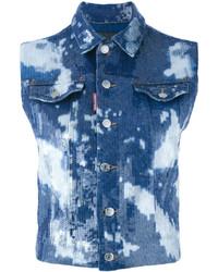 Dsquared2 Tie Dye Waistcoat