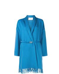 Salvatore Ferragamo Wrap Style Coat