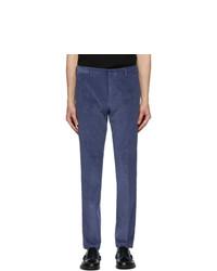 Paul Smith Blue Corduroy Trousers