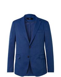 Hugo Boss Navy Slim Fit Twill Blazer